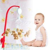 Kocome 35 Nursery Songs Infant Baby Mobile Crib Bed Bell DIY Music Box Kid Toys Gift