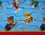 Paw Patrol Ruff Ruff Rescue Microfiber (FLAT SHEET ONLY) Size TWIN Boys Girls Kids Bedding