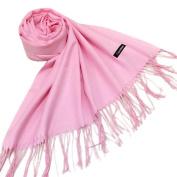 Leewa New Trendy ! Lady Womens Cashmere Solid Long Shawl Wrap Scarf