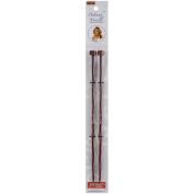 Deborah Norville Single Point Knitting Needles 10-Size 7/4.5mm