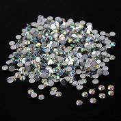 10,000pc bulk 3mm 10ss AB Crystal Loose Rhinestone Hot Fix
