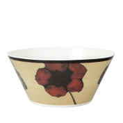 Pfaltzgraff Everyday Painted Poppies Melamine Serving Bowl, 3.3l