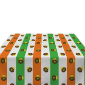 Pot of Gold Stripe Milliken Polyester Tablecloths - Assorted Sizes