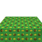 Pot of Gold Green Milliken Polyester Tablecloths - Assorted Sizes