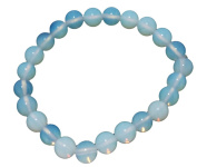OPALITE GEMSTONE POWER BEADED 8 MM BRACELET GIFT FASHION WICCA jewellery