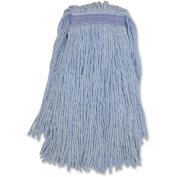 Genuine Joe GJON16B1BCT Blended Coloured Yarn Mop, No.16, 12Ea/Ct, Blue