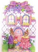 Easter Card (Inside card-Hope your Easter is a warm and happy...) American Greetings3 pk