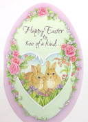Easter Cards For Both(Happy Easter to two of a kind...) American Greetingspk of 3