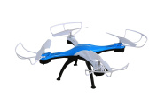 Luxon RC Drone 2.4GHz 4CH 6 Axis Gyro RC Quadcopter with Camera, Headless and 360-degree Rolling Mode