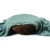 Sunmig Newborn Baby Photo Prop Blanket Rug Background Backdrops Basket Stuffer