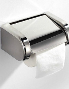 SS-Bathroom Chrome Finished Stainless Steel Toilet Wall Mounted Paper Roll Holder , chrome