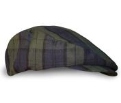Plaid Flat Golf Cap: 'Par 1.5m