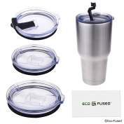 Spill and Leak Proof Lids for 20 and 890ml Yeti Ramblers - 4 Pack