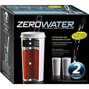 2-Pack of 5 Stage Ion Exchange Replacement filters. Fits all ZeroWater Pitchers and Dispensers