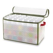Real Simple Holiday 112-Count Ornament Storage Box