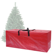BenefitUSA Artificial Christmas Tree Bag Clean Up Holiday For Up to 2.4m/2.7m Tree Storage (160cm x 38cm x 80cm