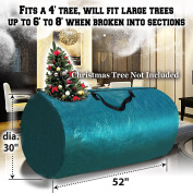 BenefitUSA Artificial Christmas Tree Bag Clean Up Holiday For Up to 2.4m/2.7m Tree Storage
