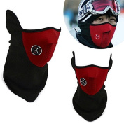 VECTOR Winter Windproof Snowboard Ski Face Mask Soft Cotton Fleece Neck Ear Warmer Protection Hook and loop Adjustable Cycling Mask Outdoor Protective Gear Facemask