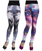 Galaxy Cosmic Print Leggings