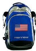 American Flag Field Hockey Bag Blue USA Flag Lacrosse Backpack