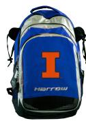 Illini Harrow Field Hockey Backpack University of Illinois Hockey Gear Bag Blue