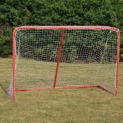 Senior ICE Hockey Elite Goal With Steel Tubing 180cm x 120cm x 80cm Regulation Net
