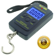 Next-shine Electronic Digital Hanging/Fish/Luggage/Kitchen Scale 0.01 lb/0.005kg, Dark Blue