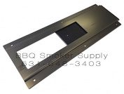 LavaLock 3 x 10 Slide Damper by BBQ Smoker Supply Weld or Bolt on