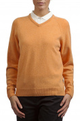 Glenmuir Ladies' 100% Lambswool V Neck Classic Sweater
