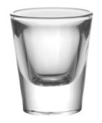 BarConic® 30ml Thick Base Clear Shot Glass