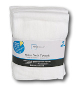 White Flour Sack Towels -Pack of 5