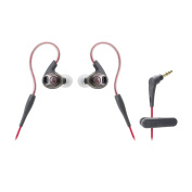 Audio-Technica ATH-SPORT3RD SonicSport In-Ear Headphones, Red