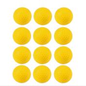Crestgolf Foam Sponge Practise Ball 12 pcs per bag