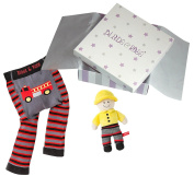 Blade & Rose Baby Boys' A-Line Striped Outfit multi-coloured red/black S