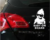 LeSo © Baby on Board Car Sticker black