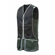 Beretta GT31 Silver Pigeon Shooting Vest In Black & Green