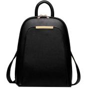 Coofit Women's Leather Backpack Handbags Ladies Daypacks Girls Vintage School Travel Bag