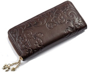 Women's Handbags Clutches Wallet Oil wax skin Purse Stylish Clutches