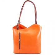Womens Genuine Italian Leather Small/mini Cross Body Bag Carry on Shoulder or Backpack Bag