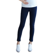 Zhhlaixing Maternity Loose Cotton Leggings Pregnancy Pants Warm Trouser Autumn