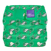 Bambino Mio Miosolo All-In-One Reusable Nappy, Little Bicycle