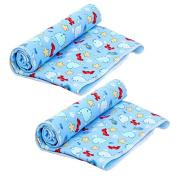 Finlon Baby Kids Waterproof Mattress Sheet Protector Bedding Nappies Changing Pads