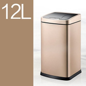Intelligent Induction Trash European - Style Home Fashion Creative Foot - Free Automatic Electric Toilet Living Room