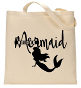 RPS Natural Cotton Slogan Shopping Bag With Text