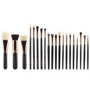 Makeup Blush Set, Hmeng Makeup Brushes Set Powder Foundation Eyeshadow Eyeliner Lip Cosmetic Brush , 20 pcs