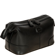 Bric's Varese Cosmetic Bag Leather 26 cm Black
