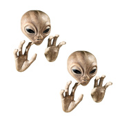 Design Toscano Roswell the Alien Plaque - Set of Two