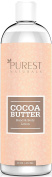 Purest Naturals Cocoa Butter Face, Hand & Body Lotion - Best Hydrating Pregnancy Therapy Moisturiser - With Shea Butter, Vitamin C & Jojoba Oil