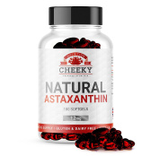 Astaxanthin 12mg softgels, 6 MONTH SUPPLY, UK MANUFACTURED by Cheeky Nutrition