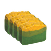 Avocado Soap Bar With Jasmine Oil - Organic With Essential Oils. Moisturising Body Soap For Skin And Face. With Shea Butter, Coconut Oil, Glycerin Set Of 4 - 120ml